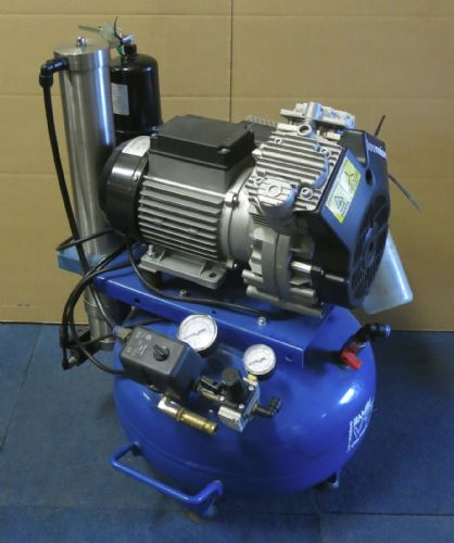 Bambi VT75D Compressor - Ultra Quiet Air - Oil-Free Professional 24 Litres,0.7HP